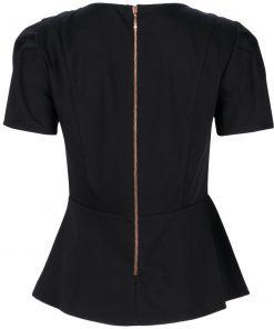 Beautician uniforms back view