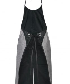 Hairdresser apron back view
