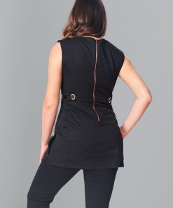 ENVY tunic back view with zip