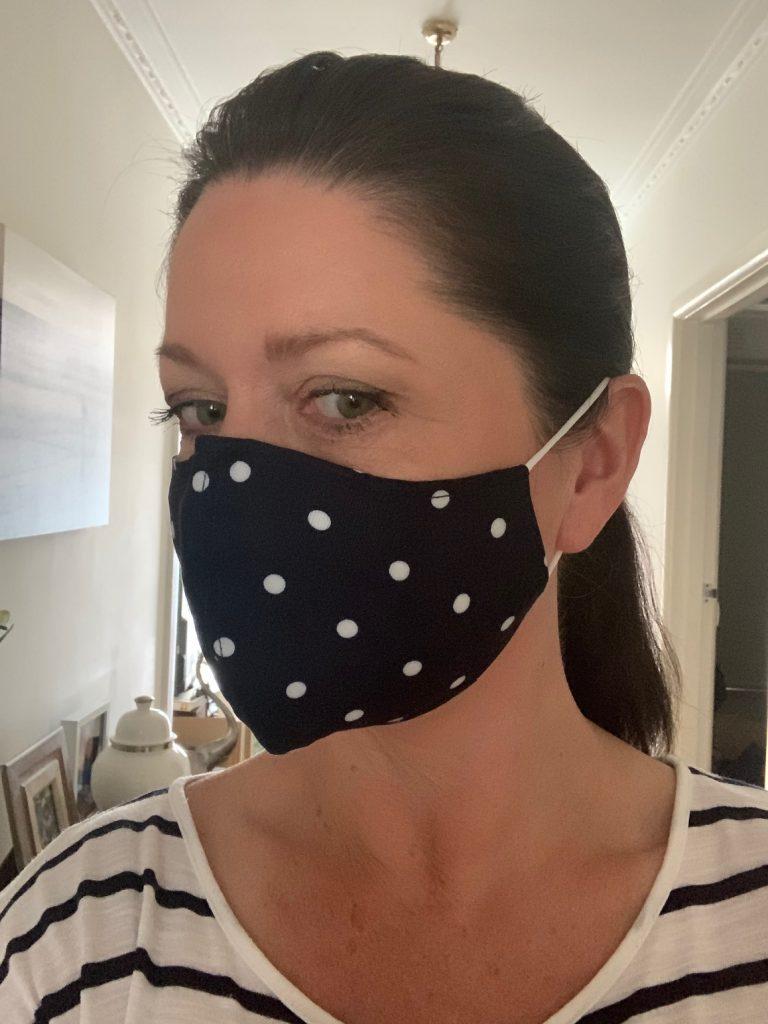 Leesa in spot seam detail mask