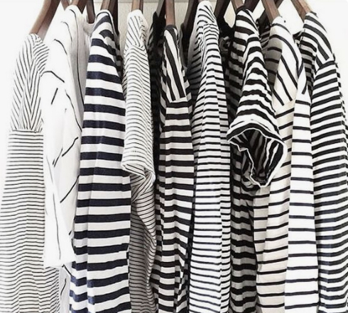 Stripe T-shirt collection