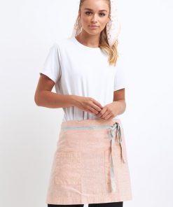 Star waist apron in Blush with MOJO pant