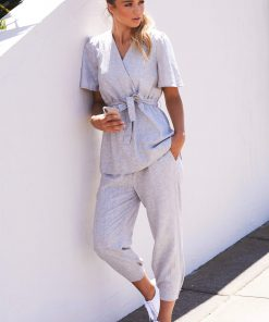 JETE top styled with MEZE pant