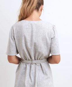 JETE spa tunic back view