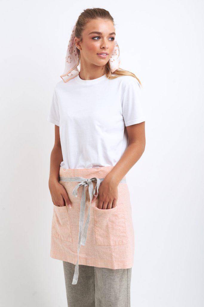 Blush star apron